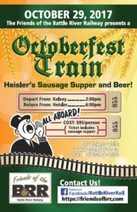 Octoberfest Train @ Depart from Kelsey, AB