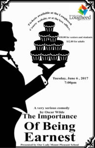 The Importance of Being Earnest @ Jeanne & Peter Lougheed Centre