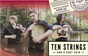 Ten Strings & A Goat Skin @ The Bailey Theatre