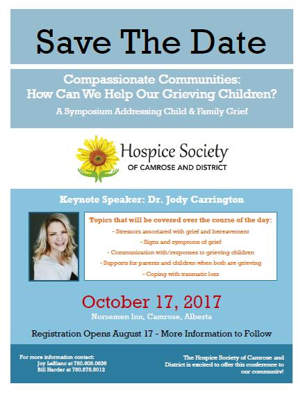 Compassionate Communities: A Symposium Addressing Child & Family Grief @ Norsemen Inn