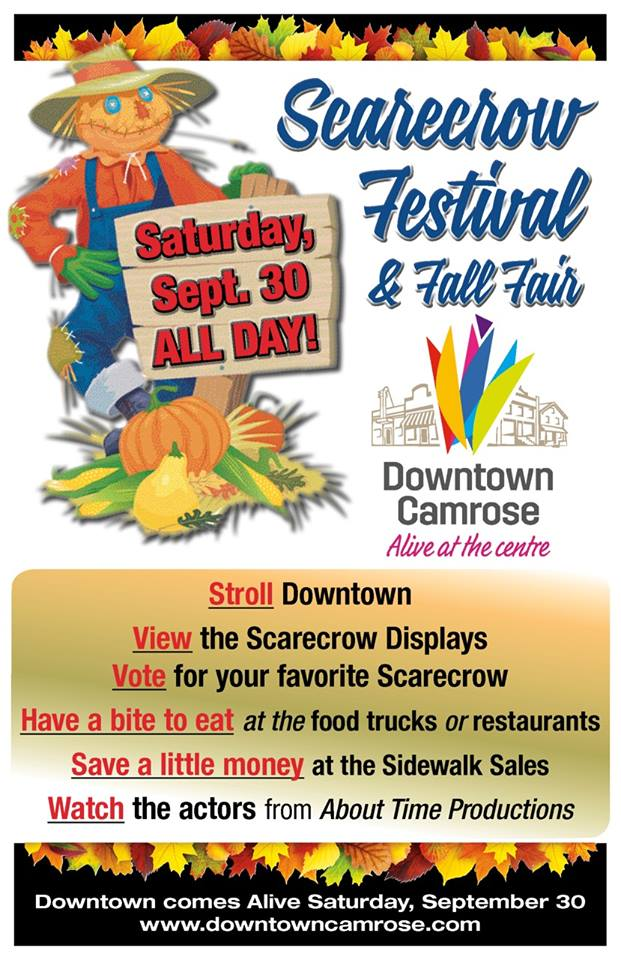 Scarecrow Festival & Fall Fair @ Downtown Camrose